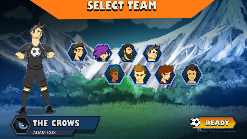 Game Character Selection